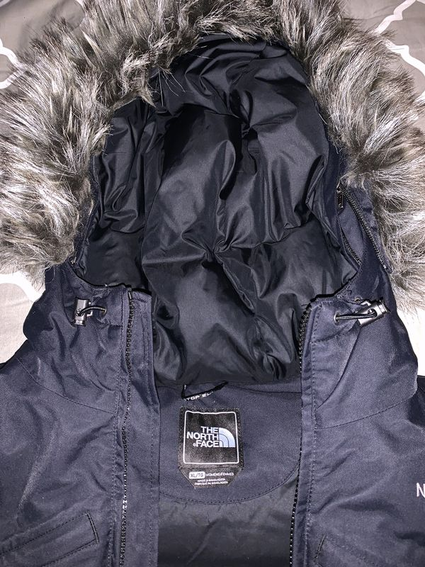 North Face Women's Arctic Down Parka Black Size XL