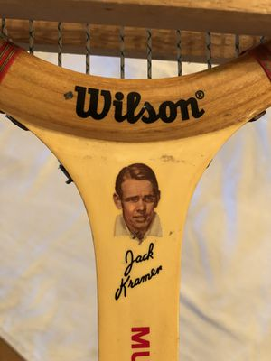 Vintage '60s Jack Kramer Edition Wilson Tennis Racket for Sale in Mesa, AZ