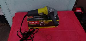 ryobi 4 1/2 angle grinder for Sale in Buena Park, CA