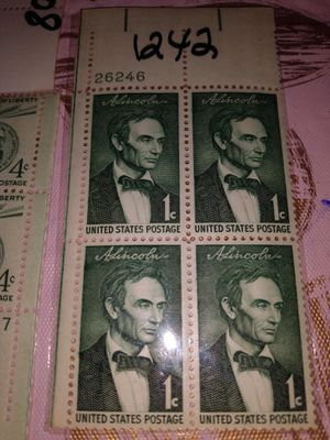 Rare presidential stamps early 1900s for Sale in Vestal, NY