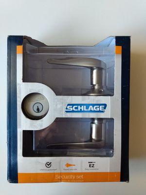 Schlage door lock. Brand New!!! Nuevo for Sale in Los Angeles, CA