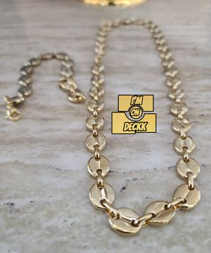 🚨🚨🚨 Gold plated Chain and bracelet set 🚨🚨🚨 I Deliver for Sale in Miami, FL