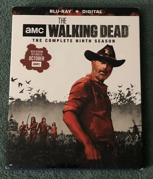 THE WALKING DEAD COMPLETE NINTH SEASON BLU-RAY SEALED for Sale in Countryside, IL