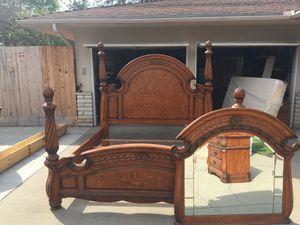 King XL master bedroom set for Sale in Fresno, CA