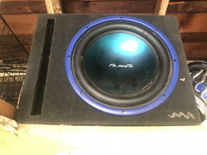 850w Almani audio subwoofer and box for Sale in El Cajon, CA