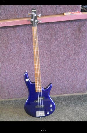 Ibanez bass guitar - purple for Sale in Columbus, OH