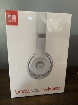 Factory sealed Beats Solo 3 wireless headphones for Sale in Fair Oaks, CA