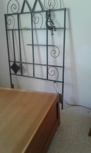 Two twin bed frames and mattress for Sale in Peoria, AZ