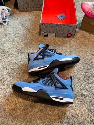 Travis Scott Nike Jordan Retro 4 size 10.5 limited edition STEAL for Sale in Triangle, VA