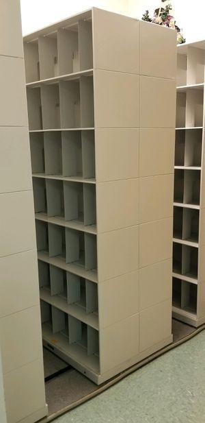 Medical Records Storage Cabinet - Sliding Shelving Filing System for Sale in Fort Pierce, FL