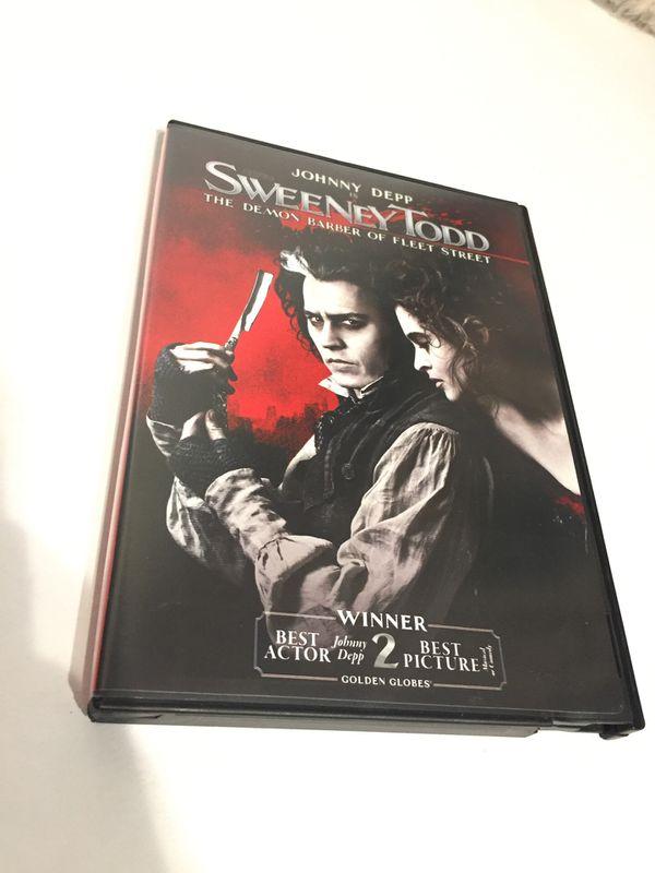 DVD- Sweeney Todd
