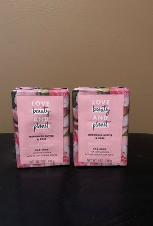 2 Love beauty and planet soap bars for Sale in Hamburg, NY