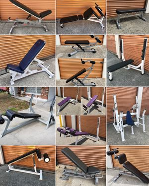 Flat, Incline, Decline, Shoulder Press, Adjustable, Ab/Abdominal Weight Benches Available for Sale in Davenport, FL