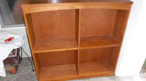 """Nice hardwood bookcases:matching 48"""" pair for Sale in Kirkland, WA"""