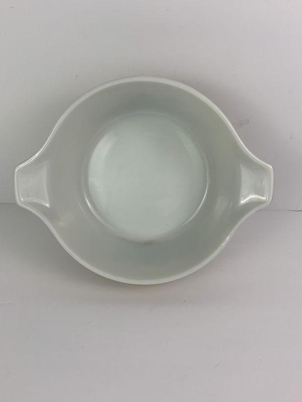 Pyrex Homestead Brown #475 B 2.5 Qt Cinderella Casserole Dish Vintage