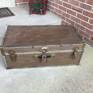 Vintage Trunk Storage Chest for Sale in Vienna, VA