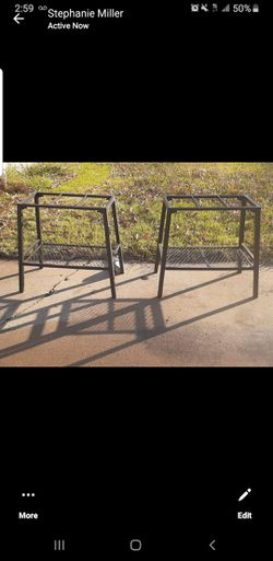 2-Heavy Duty Forged Fish Tank Stands for Sale in Oklahoma City,  OK