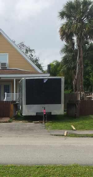 2013 Teemspirit Car/Motorcycle Trailer 24ft for Sale in Hillsboro Beach, FL