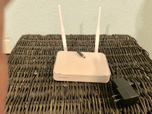 NetGear N300 WiFi Router w/High Power 5dBi External Antennas OBO for Sale in Fresno, CA
