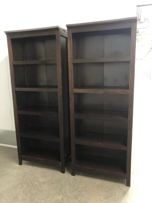 Brown bookshelves bookcases for Sale in San Diego, CA
