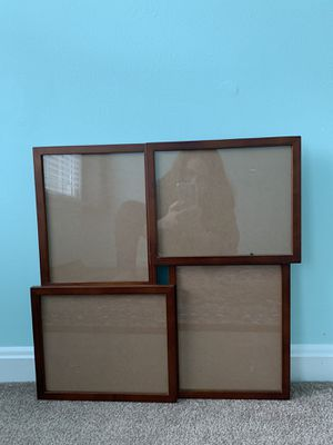 Four 8X10 Openings Walnut Collage Frame $20 for Sale in Fairfax, VA