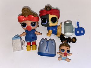 """Lol series 3 """"can do baby"""" can do kitty and lil sis for Sale in Portland, OR"""