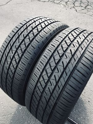 99% like new (2) Bridgestone 225/40R18 Drive Guard Run Flat Tires 225/40/18 USED TIRES 225 40 18 for Sale in Santa Ana, CA