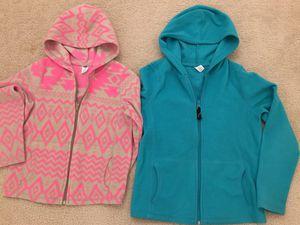 Fleece zip up hoodie jacket(2 for $10) for Sale in Fairfax, VA