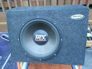 Automobile Subwoofer with amp for Sale in Portland, OR