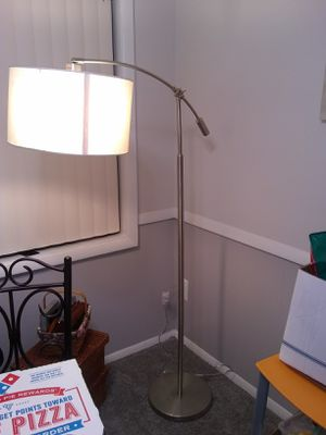 Chrome fioor lamp for Sale in Alexandria, VA