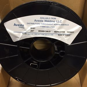 """.025"""" ER308LSi Avesta Stainless Steel MIG Wire 10 lb 8"""" Spool for Sale in Everett, WA"""