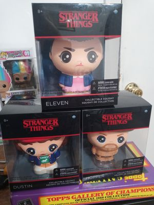Stranger things squishy 5 each for Sale in Watsonville, CA