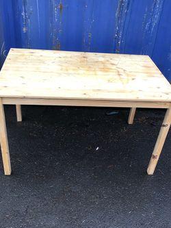 IKEA Pine Table $41 for Sale in Lakewood,  WA