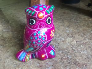 ⭐️🌵Mexican Colorful Folk Art Owl. 🌵 for Sale in Torrington, CT