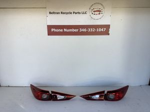 2014 2018 Mazda 3 tail lights for Sale in Houston, TX