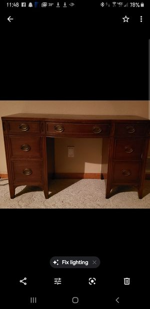 Antique vanity/desk for Sale in VLG OF 4 SSNS, MO