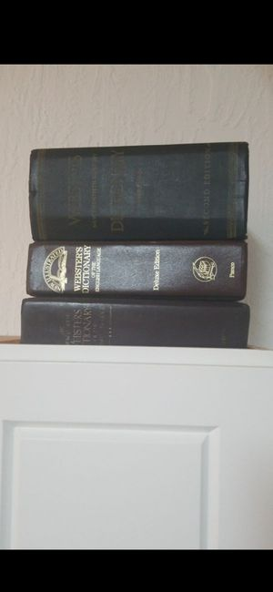 (3) VINTAGE DICTIONARIES for Sale in Delray Beach, FL