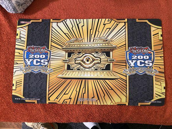 Yugioh YCS 200 Gold Sarcophagus Playmat