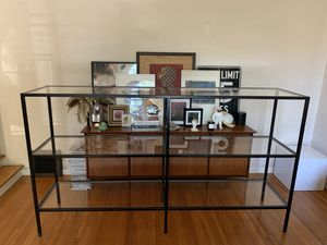 LARGE METAL SHELF 8ft ! for Sale in Los Angeles, CA