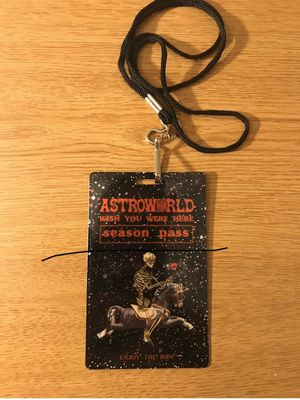 Travis Scott Astroworld Season Pass for Sale in Dalton, MN