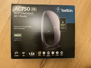 brandnew Belkin wifi dual-band AC+ router for Sale in Brooklyn, NY