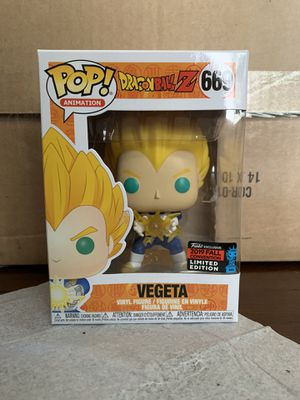 Funko Pop NYCC Exclusive Vegeta #669 for Sale in Whittier, CA