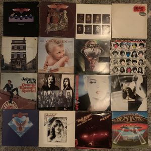 57 vinyl albums - classic rock, easy listening, country, and soundtracks for Sale in Tampa, FL