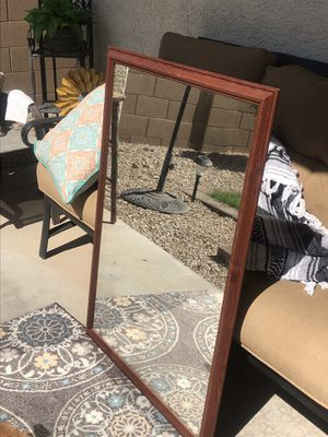 Large hanging mirror for Sale in Gilbert, AZ