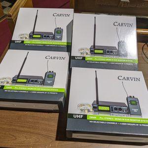 Wireless In-Ear Monitors - Carvin Audio for Sale in Walpole, MA