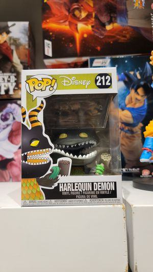 HARLEQUIN DEMON # 212 Funko POP! THE NIGHTMARE BEFORE CHRISTMAS for Sale in Glendale, CA