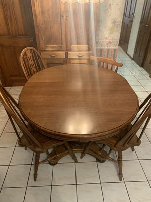 Wooden Kitchen Table Set for Sale in St. Louis, MO