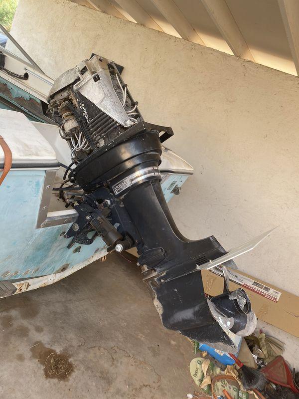 134hp Mercury outboard