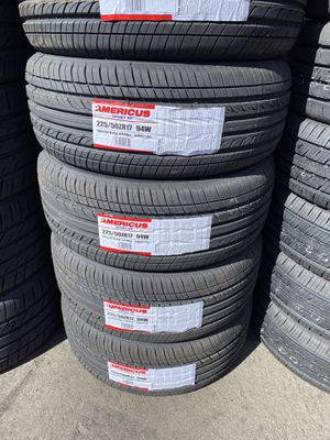 225/50R17 SET OF 4 NEW TIRES ON SPECIAL 💰We finance no credit needed for Sale in Lafayette, CA