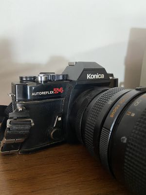 Konica T4 film camera and lens for Sale in Las Vegas, NV